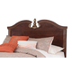 Naralyn Queen/Full Panel Headboard Bed in Reddish Brown