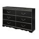 Navoni Dresser in Black B301-31