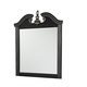 Navoni Bedroom Mirror in Black B301-36