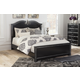 Navoni Queen Panel Bed in Black