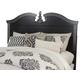 Navoni Queen/Full Panel Headboard Bed in Black