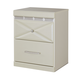Dreamur Two Drawer Night Stand in Champagne B351-92 CLEARANCE