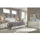 Dreamur 4-Piece Panel Bedroom Set in Champagne