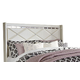 Dreamur Queen Panel Headboard Bed in Champagne