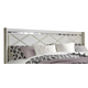 Dreamur King/Caifornial King Panel Headboard Bed in Champagne