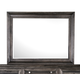 Magnussen Calistoga Landscape Mirror in Weathered Charcoal B2590-40