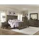 Magnussen Calistoga 4-Piece Panel Bedroom Set in Weathered Charcoal