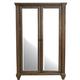 A-America Furniture Gallatin Chifforobe in Timeworn Mahogany GLNTM5650