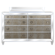 Magnussen Monroe 8 Drawer Dresser in Pearlizzed White B2935-20