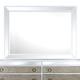 Magnussen Monroe Landscape Mirror in Pearlizzed White B2935-40