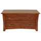 A-America Furniture Grant Park Storage Trunk in Pecan GPKPE5950