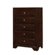 Coaster Jaxson Chest in Cappuccino 203485