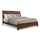 Klaussner Parkview California King Sleigh Bed in Bourbon 398-060