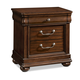 Klaussner Parkview 3 Drawer Nightstand in Bourbon 398-670