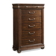 Klaussner Parkview 5 Drawer Chest in Bourbon 398-681