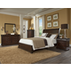 Klaussner Parkview 4-Piece Sleigh Bedroom Set in Bourbon