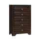 Coaster Bryce Chest in Cappuccino 203475