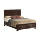 Coaster Bryce King Storage Bed in Cappuccino 203471KE