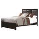 Coaster Palmetto Queen Panel Bed in Cappuccino 203551Q