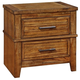 Coaster Cupertino Nightstand in Antique Amber 204022