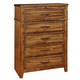 Coaster Cupertino Chest in Antique Amber 204025