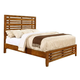 Coaster Cupertino Queen Panel Bed in Antique Amber 204021Q