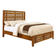 Coaster Cupertino California King Panel Bed in Antique Amber 204021KW