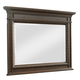 Klaussner Palencia Landscape Mirror in Dark Brown 799-660