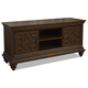 Klaussner Palencia Media Chest in Dark Brown 799-682