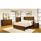 Coaster Coronado 4-Piece Panel Bedroom Set in Two-Toned