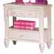 Coaster Caroline Nightstand in Painted White 400722