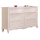 Coaster Caroline Dresser in Painted White 400723