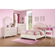 Coaster Caroline 4-Piece Panel Bedroom Set in Painted White