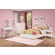 Coaster Caroline 4-Piece Storage Bedroom Set in Painted White