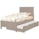 Coaster Ashton Full Storage Bed in Grey