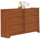 Coaster Ashton Dresser in Honey 400813