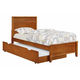 Coaster Ashton Full Storage Bed in Honey