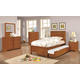 Coaster Ashton 5-Piece Storage Bedroom Set in Honey