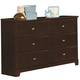 Coaster Ashton Dresser in Cappuccino 400773