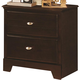 Coaster Ashton Nightstand in Cappuccino 400772