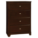 Coaster Ashton Chest in Cappuccino 400775