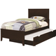 Coaster Ashton Twin Storage Bed in Cappuccino