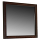 Coaster Cameron Mirror in Rich Brown 203494