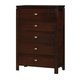 Coaster Cameron Chest in Rich Brown 203495