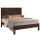 Coaster Cameron Queen Panel Bed in Rich Brown 203491Q