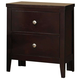 Coaster Carlton Nightstand in Cappuccino 202092