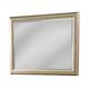 Klaussner Serenade Glamour Landscape Mirror in Shimmering Wood 974-660