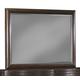 Klaussner Serenade II Landscape Mirror in Espresso Mahogany 976-660