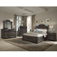 Klaussner Versailles 4-Piece Panel Bedroom Set in Normandie