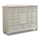 Klaussner Sea Breeze Dresser in White 424-650